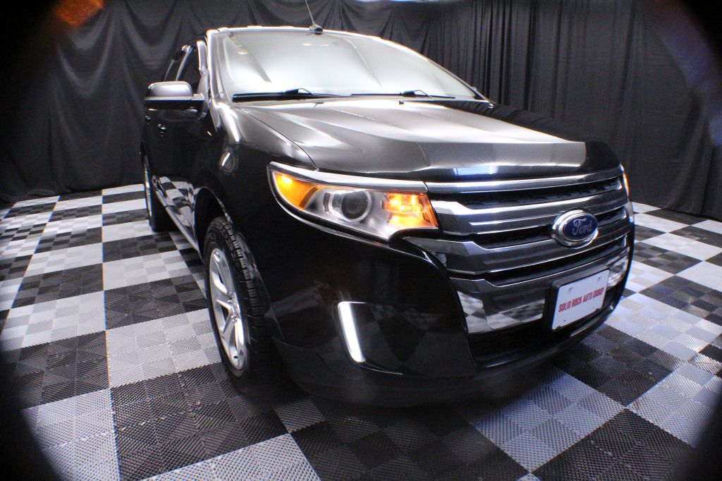 2013 FORD EDGE SEL for sale at Solid Rock Auto Group