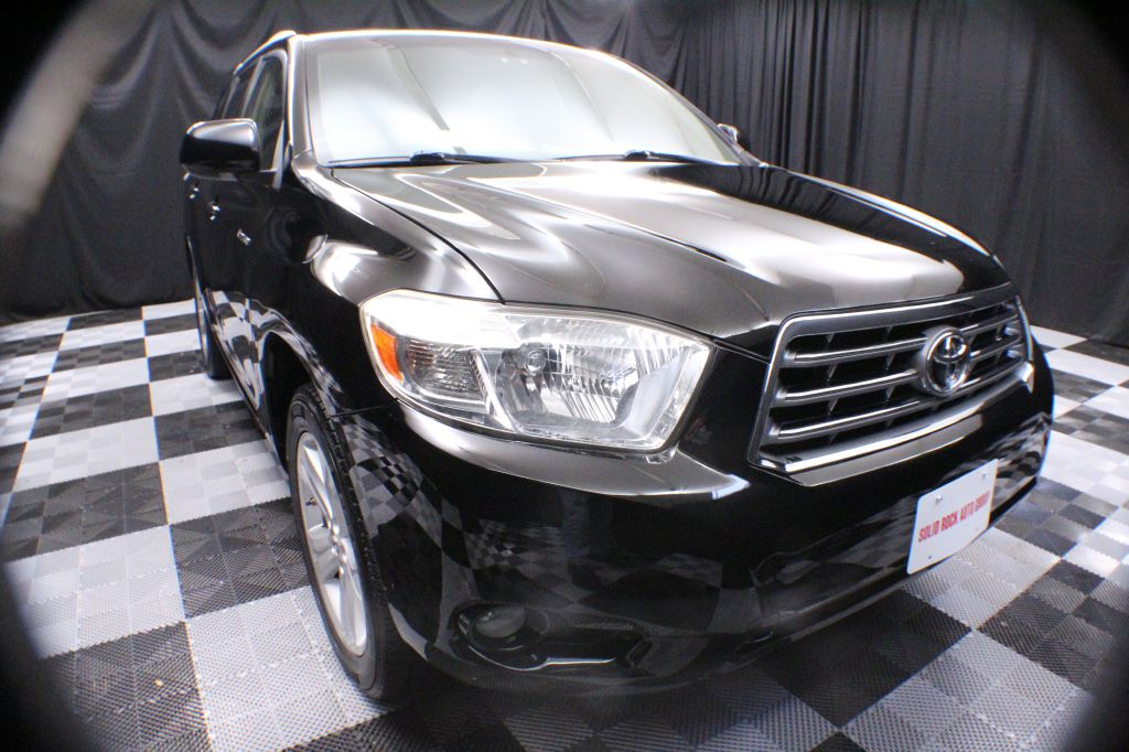 2009 TOYOTA HIGHLANDER LIMITED for sale at Solid Rock Auto Group