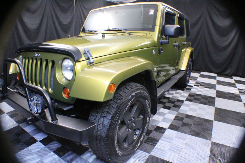 2008 JEEP WRANGLER UNLIMI SAHARA for sale at Solid Rock Auto Group