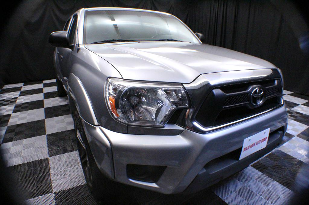 2014 TOYOTA TACOMA DOUBLE CAB for sale at Solid Rock Auto Group