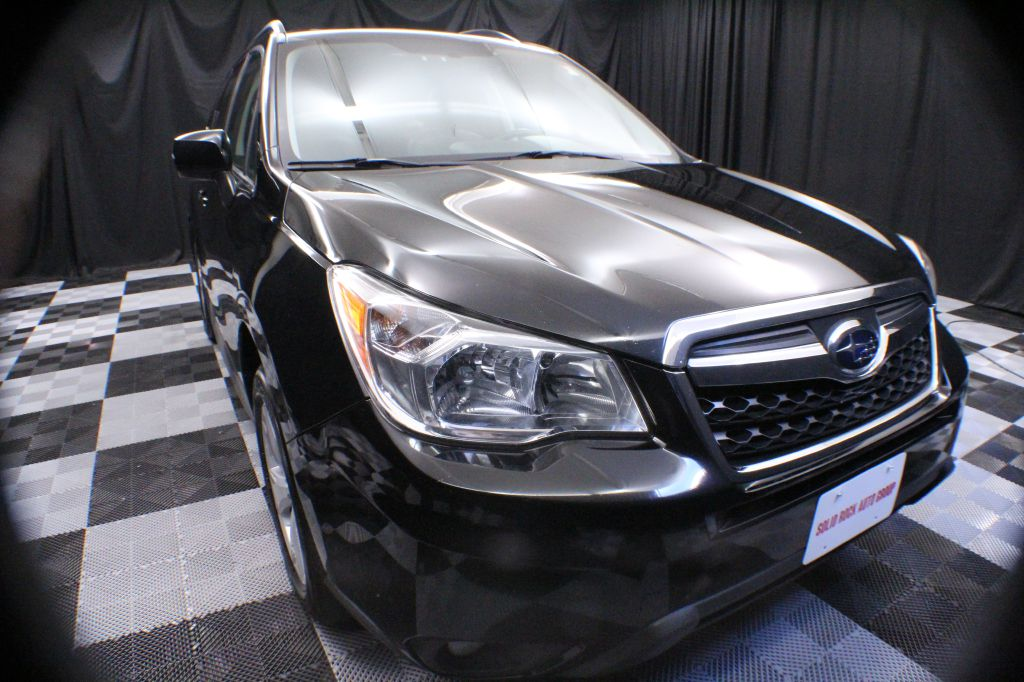 2014 SUBARU FORESTER for sale at Solid Rock Auto Group