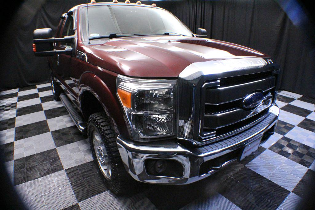 2012 FORD F250 for sale at Solid Rock Auto Group