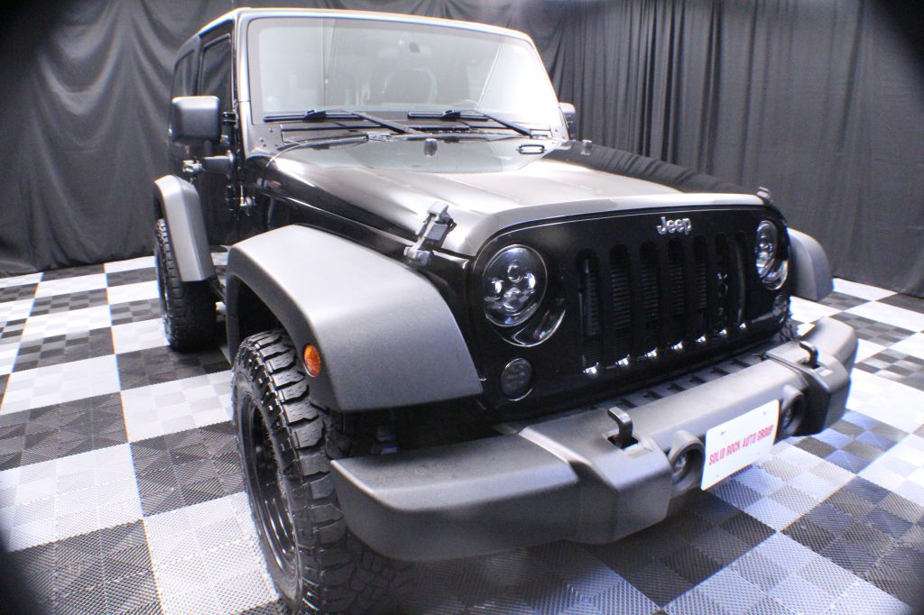 2013 JEEP WRANGLER for sale at Solid Rock Auto Group
