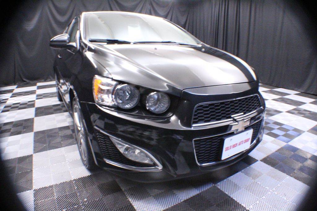 2015 CHEVROLET SONIC for sale at Solid Rock Auto Group