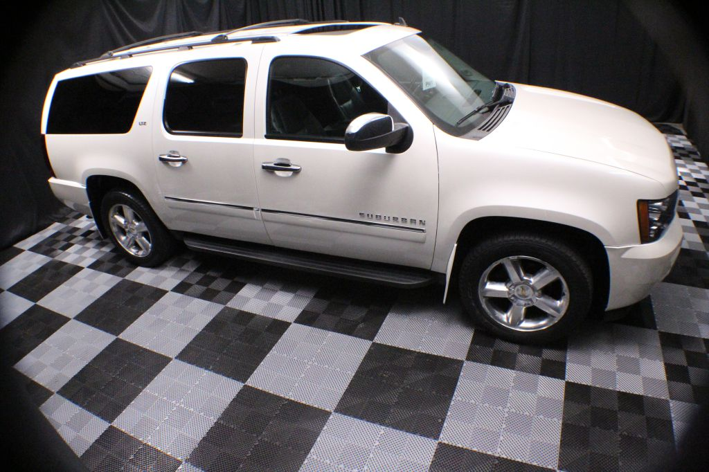 2011 CHEVROLET SUBURBAN 1500 LTZ for sale at Solid Rock Auto Group