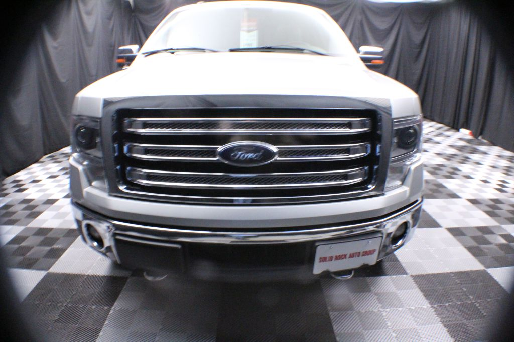 2014 FORD F150 SUPER CAB LARIAT for sale at Solid Rock Auto Group