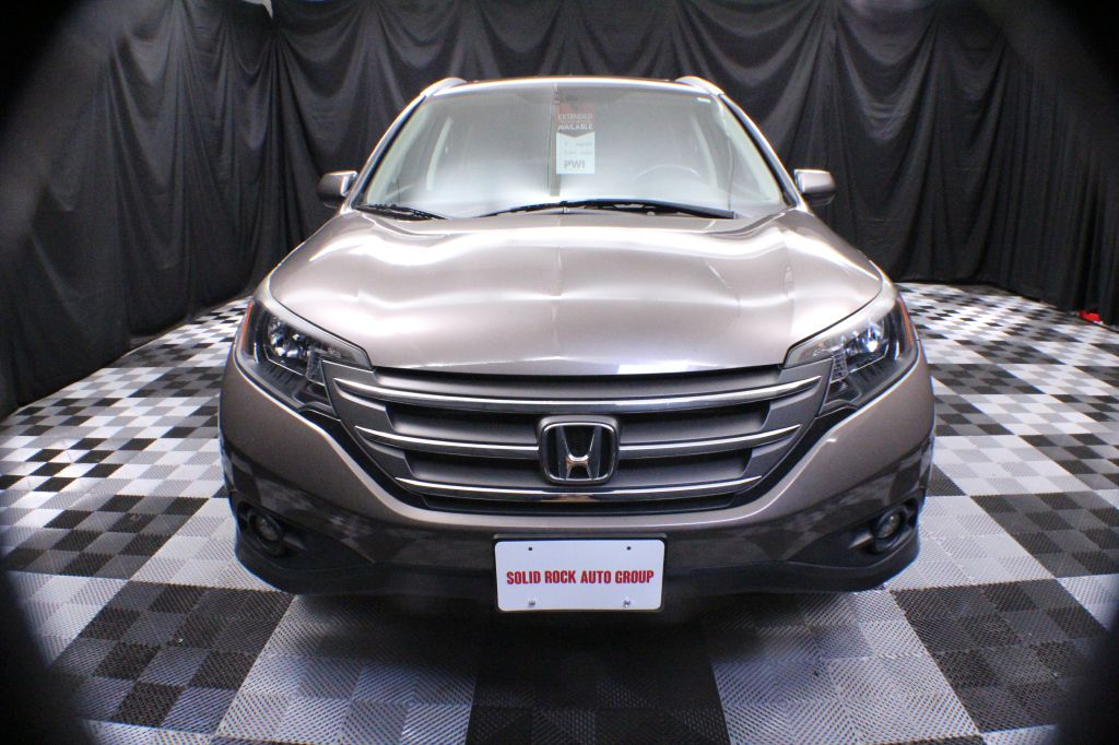 2014 HONDA CR-V EXL for sale at Solid Rock Auto Group