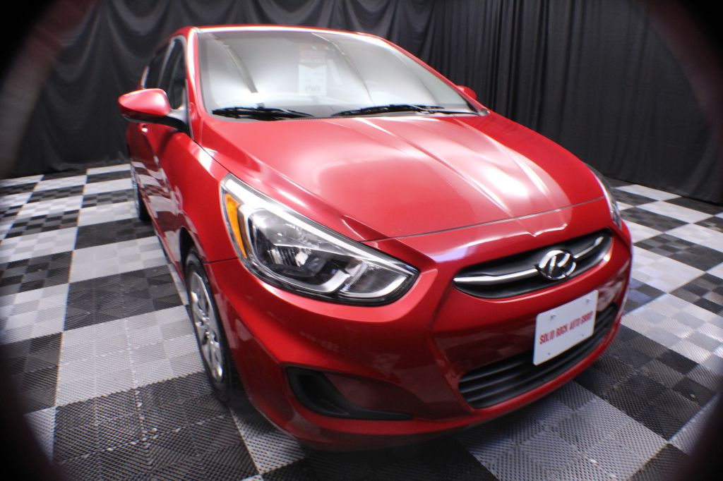 2017 HYUNDAI ACCENT SE for sale at Solid Rock Auto Group