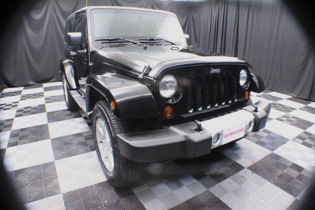 2010 JEEP WRANGLER for sale at Solid Rock Auto Group