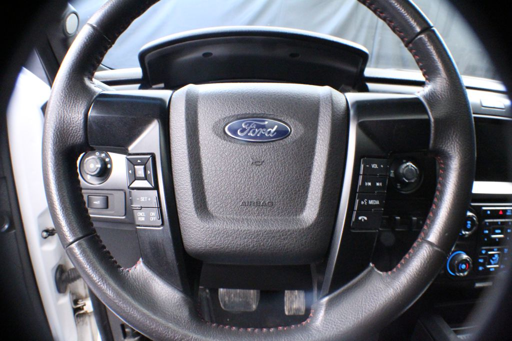 2014 FORD F150 SUPERCREW for sale at Solid Rock Auto Group