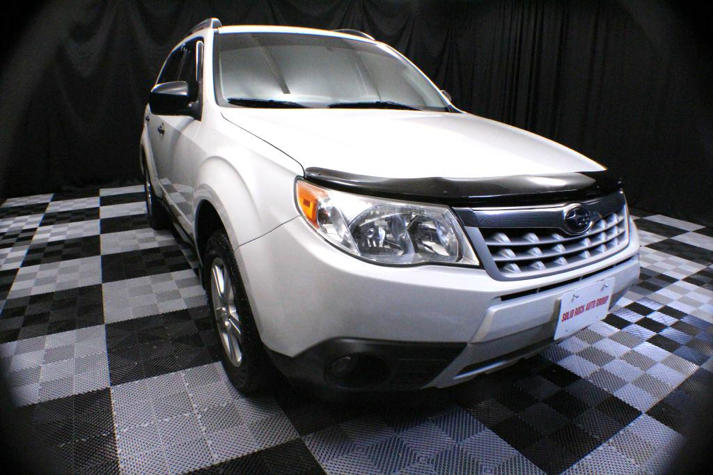 2012 SUBARU FORESTER for sale at Solid Rock Auto Group