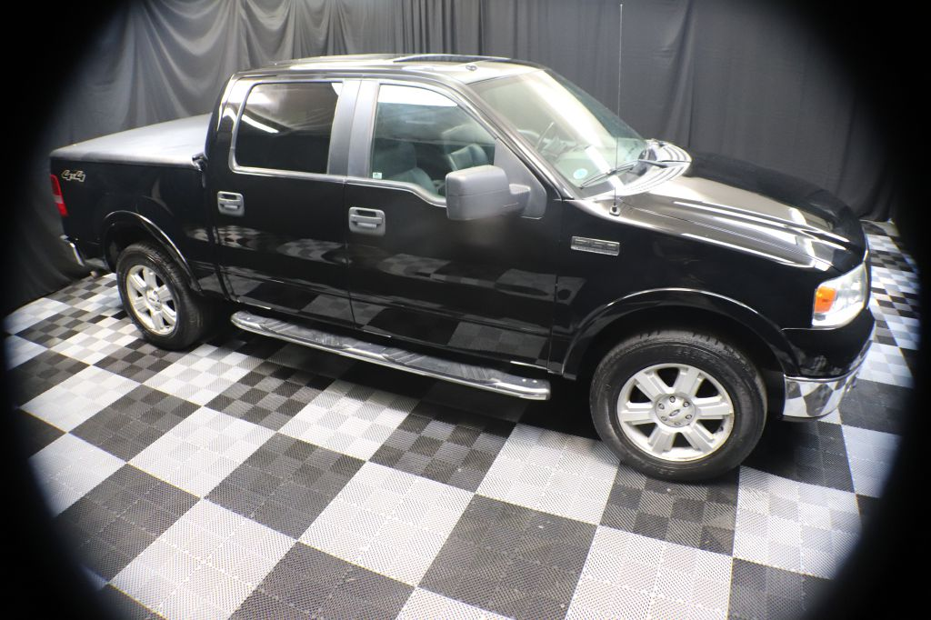 2007 FORD F150 SUPERCREW LARIAT for sale at Solid Rock Auto Group