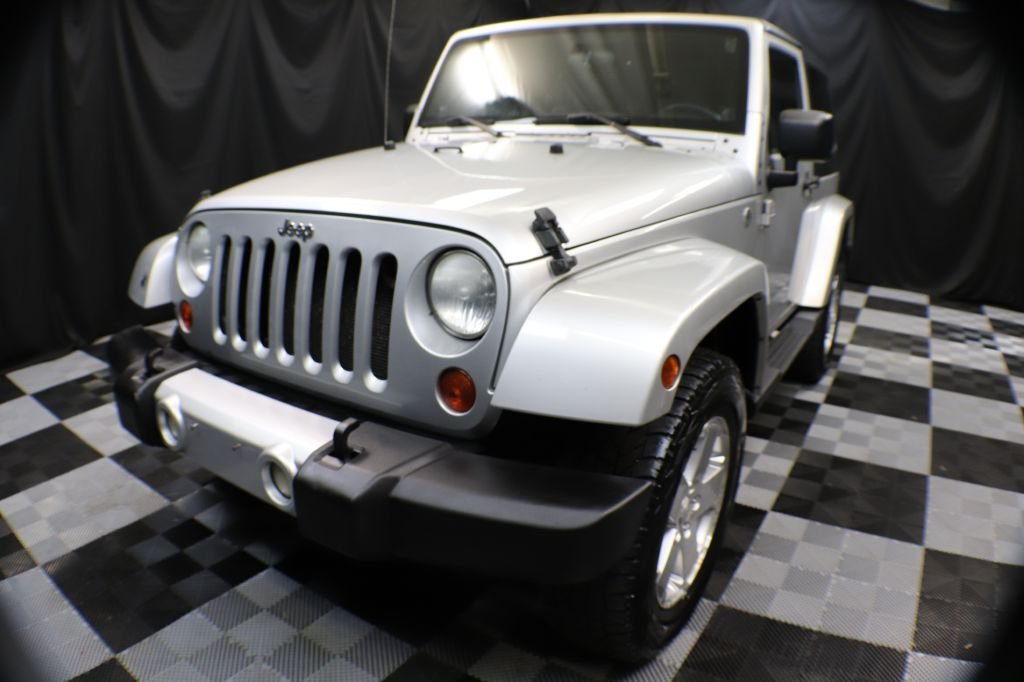 2008 JEEP WRANGLER SAHARA for sale at Solid Rock Auto Group