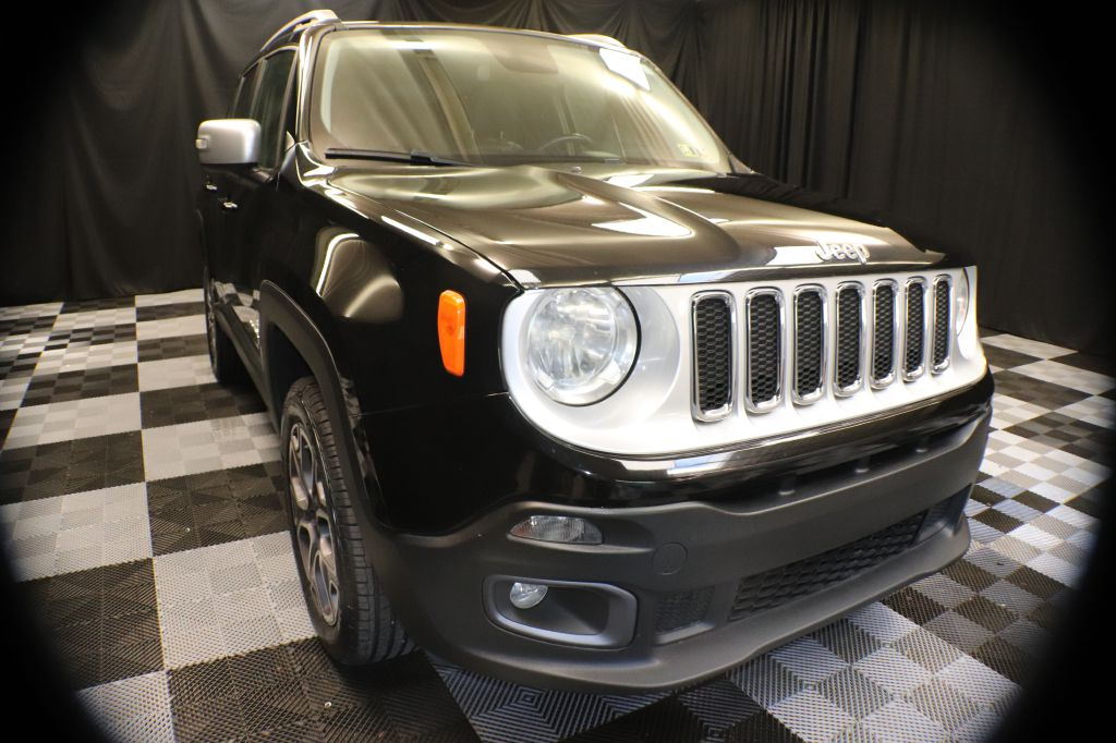2016 JEEP RENEGADE LIMITED for sale at Solid Rock Auto Group