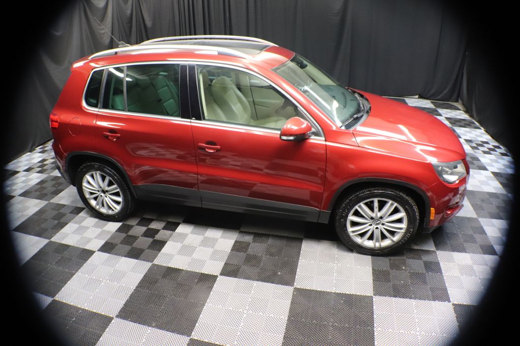 2011 VOLKSWAGEN TIGUAN S for sale at Solid Rock Auto Group