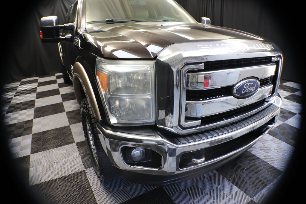 2013 FORD F350 SUPER DUTY LARIAT for sale at Solid Rock Auto Group