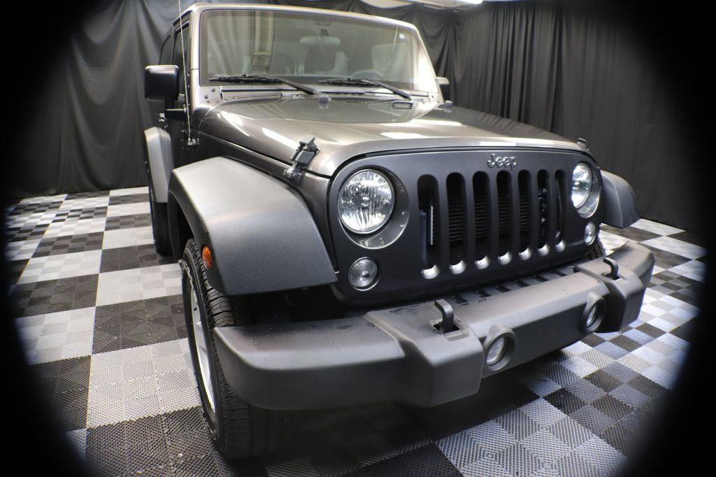 2017 JEEP WRANGLER for sale at Solid Rock Auto Group