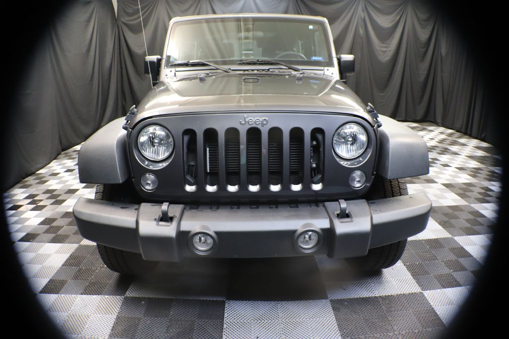 2017 JEEP WRANGLER SPORT for sale at Solid Rock Auto Group