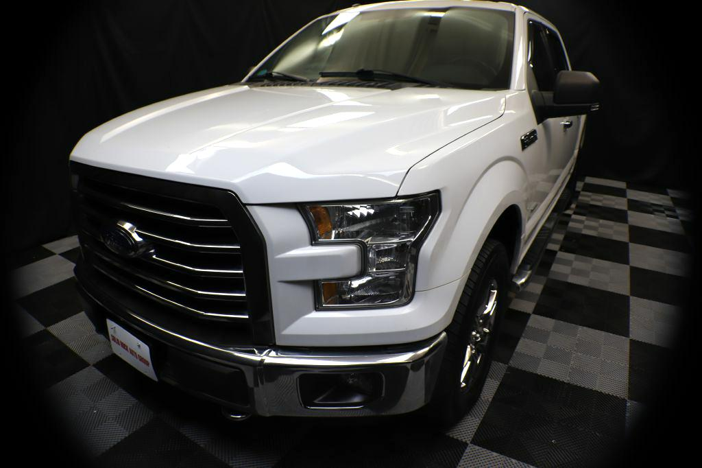 2016 FORD F150 SUPERCREW XLT for sale at Solid Rock Auto Group