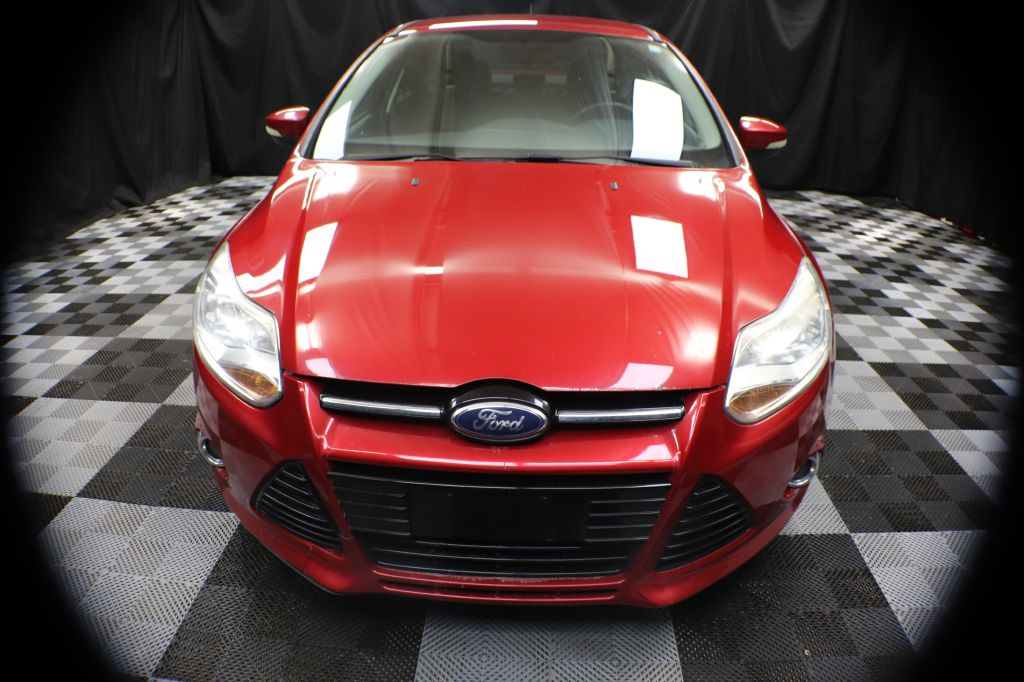 2012 FORD FOCUS SEL for sale at Solid Rock Auto Group
