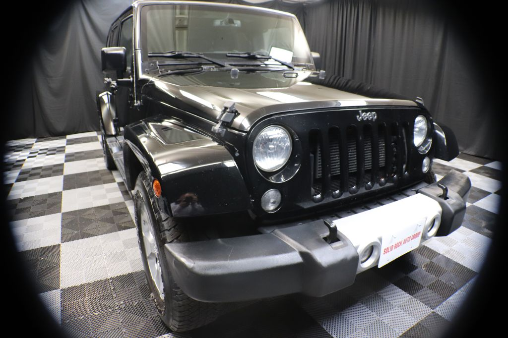 2015 JEEP WRANGLER UNLIMI for sale at Solid Rock Auto Group