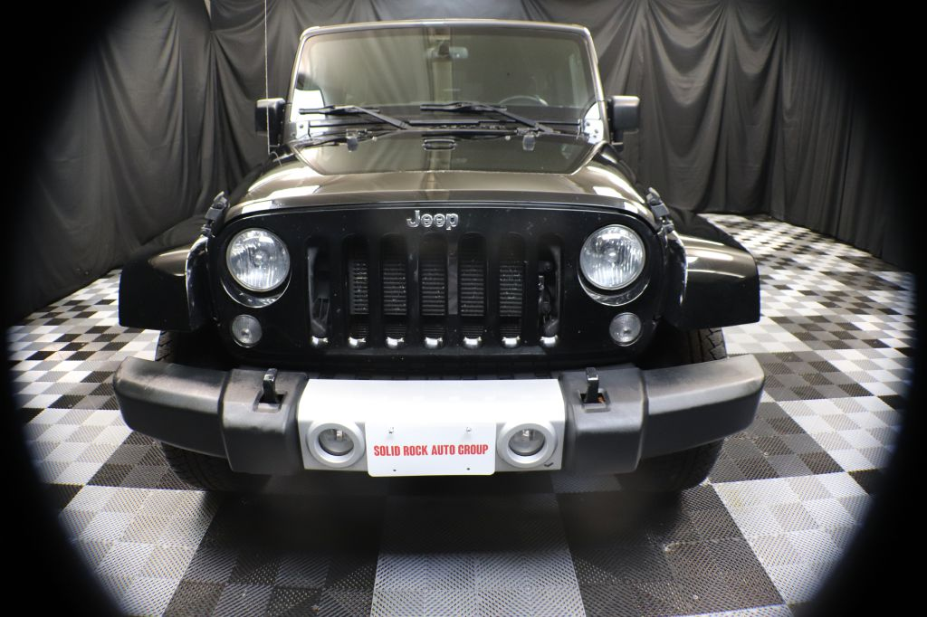 2015 JEEP WRANGLER UNLIMI SAHARA for sale at Solid Rock Auto Group