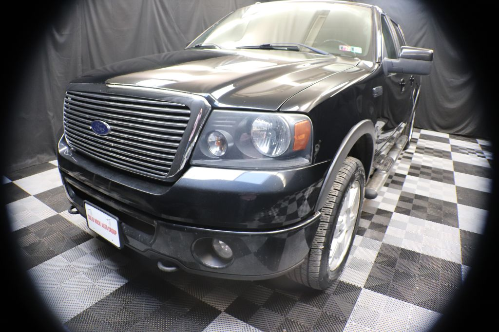 2008 FORD F150 SUPERCREW FX4 for sale at Solid Rock Auto Group
