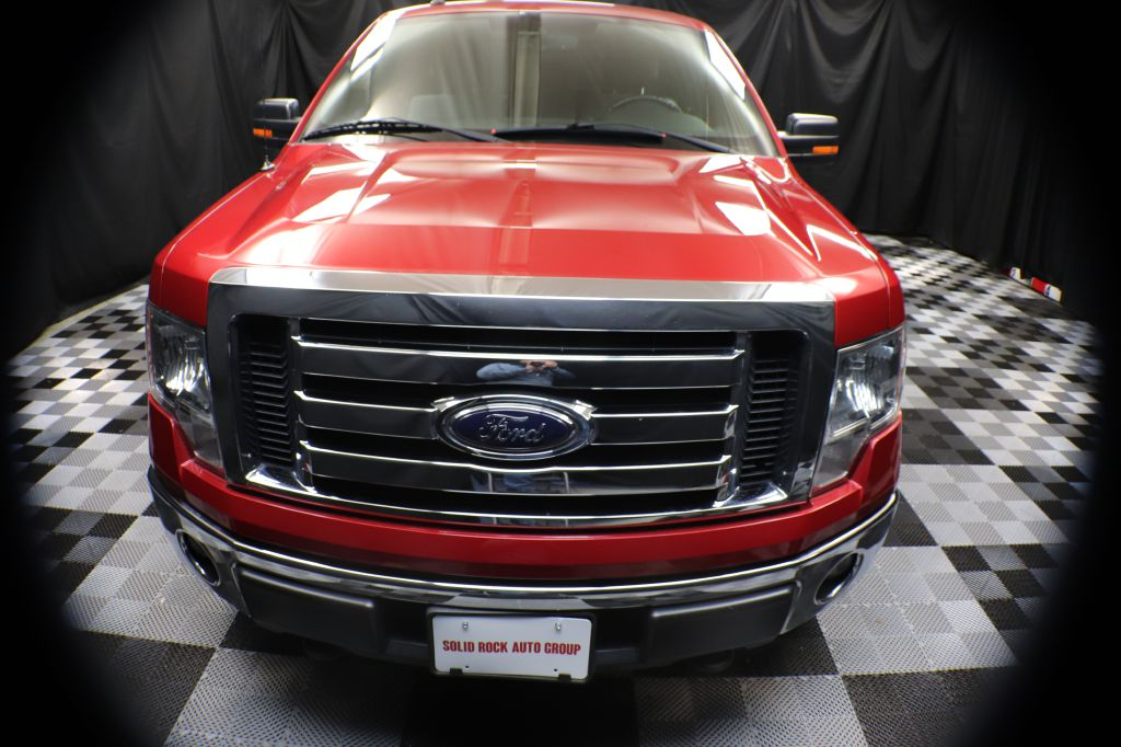 2011 FORD F150 SUPER CAB for sale at Solid Rock Auto Group