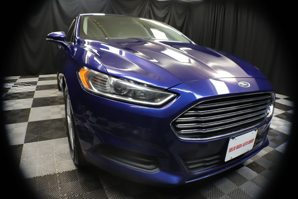 2016 FORD FUSION for sale at Solid Rock Auto Group