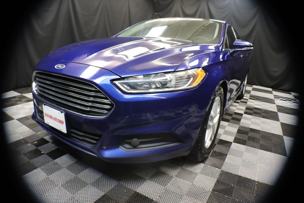 2016 FORD FUSION SE for sale at Solid Rock Auto Group