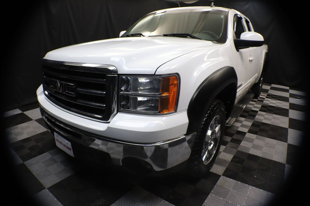 2012 GMC SIERRA 1500 SLT for sale at Solid Rock Auto Group
