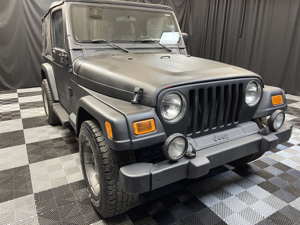 2003 JEEP WRANGLER / TJ SPORT for sale at Solid Rock Auto Group