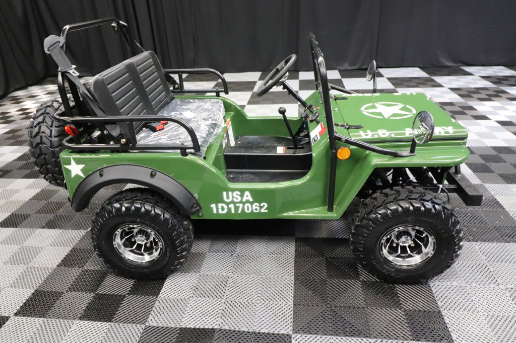 2021 COOLSTER CHALLENGER ARMY WILLY JEEP for sale at Solid Rock Auto Group