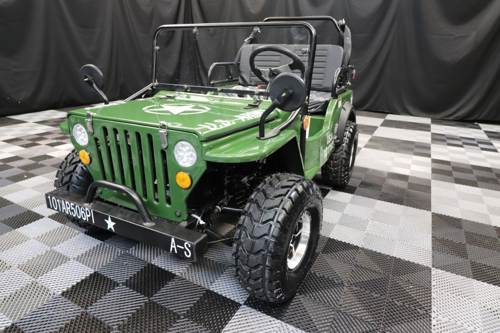 2021 COOLSTER CHALLENGER ARMY JEEP WILLYS for sale at Solid Rock Auto Group