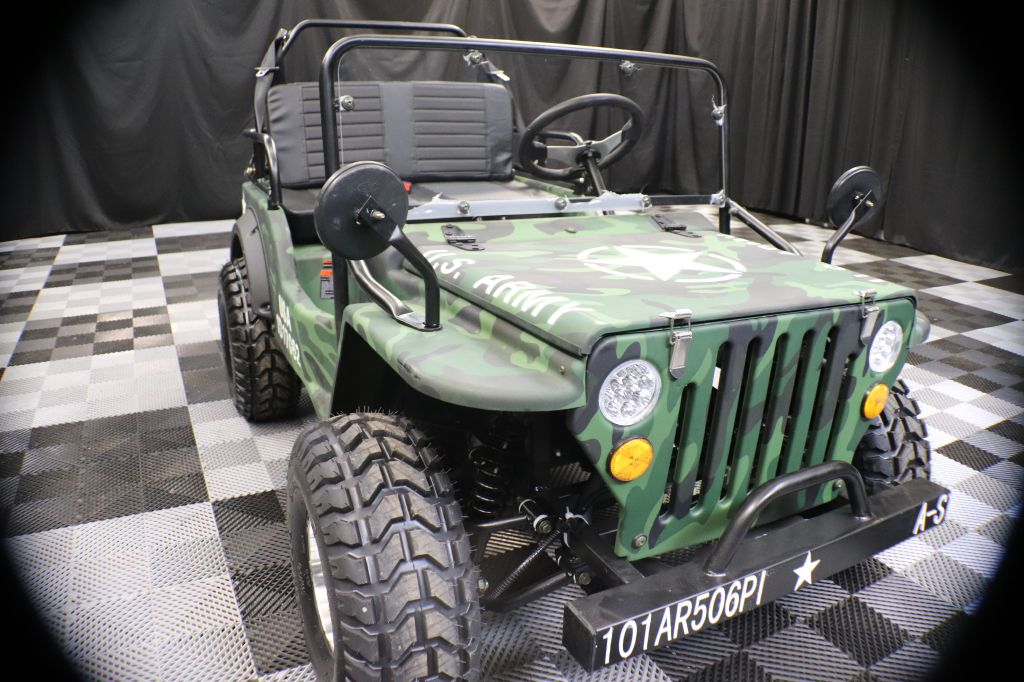 2021 COOLSTER CHALLENGER ARMYJEEP WILLYS for sale at Solid Rock Auto Group