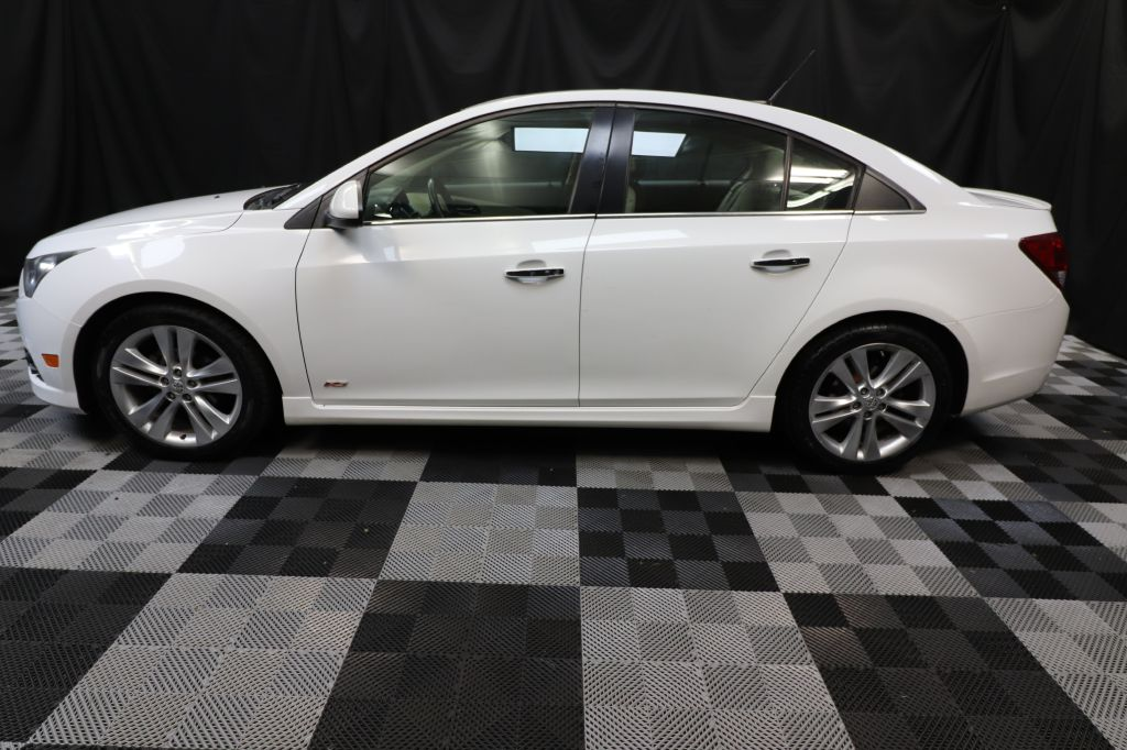 2014 CHEVROLET CRUZE LTZ for sale at Solid Rock Auto Group
