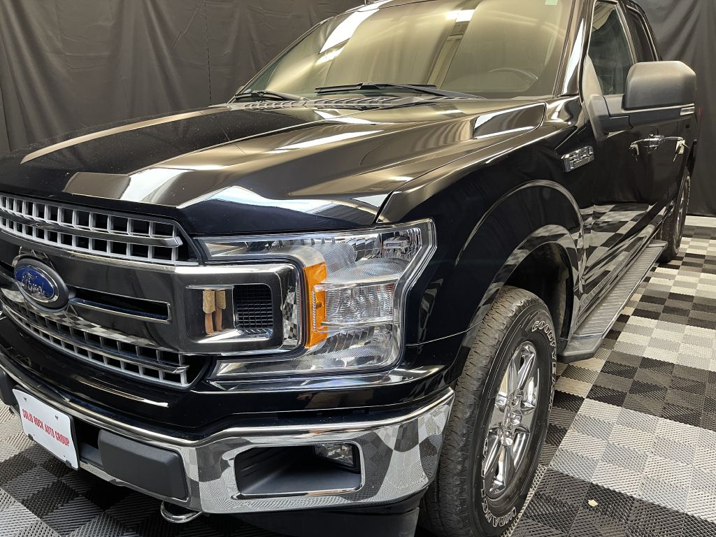 2018 FORD F150 SUPER CAB for sale at Solid Rock Auto Group