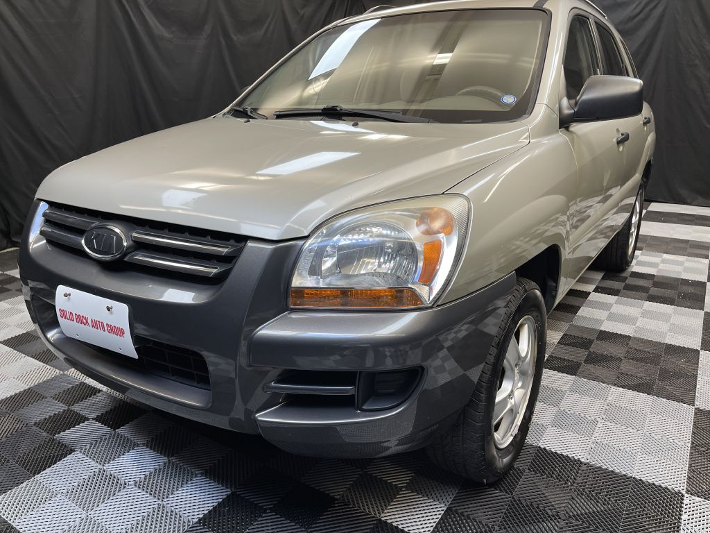 2007 KIA SPORTAGE LX for sale at Solid Rock Auto Group