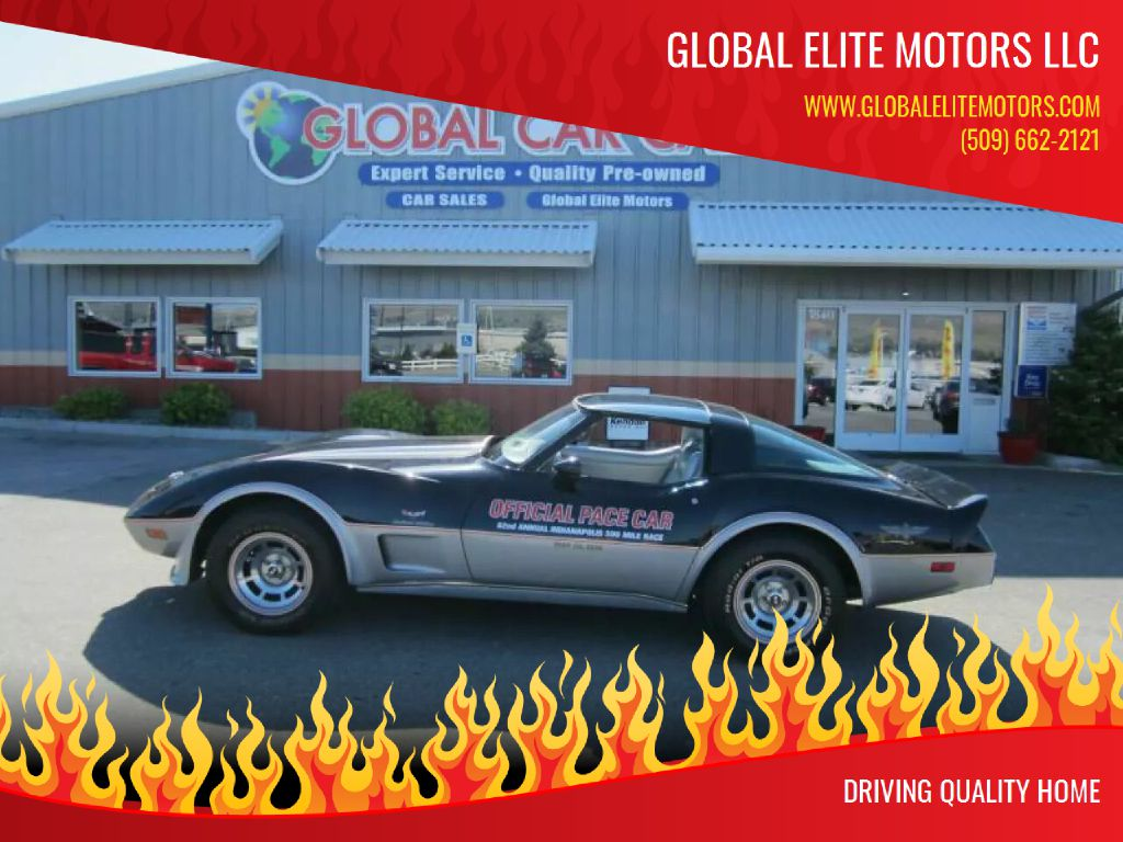 1978 CHEVROLET CORVETTE 1Z87L8S903624 GLOBAL ELITE MOTORS