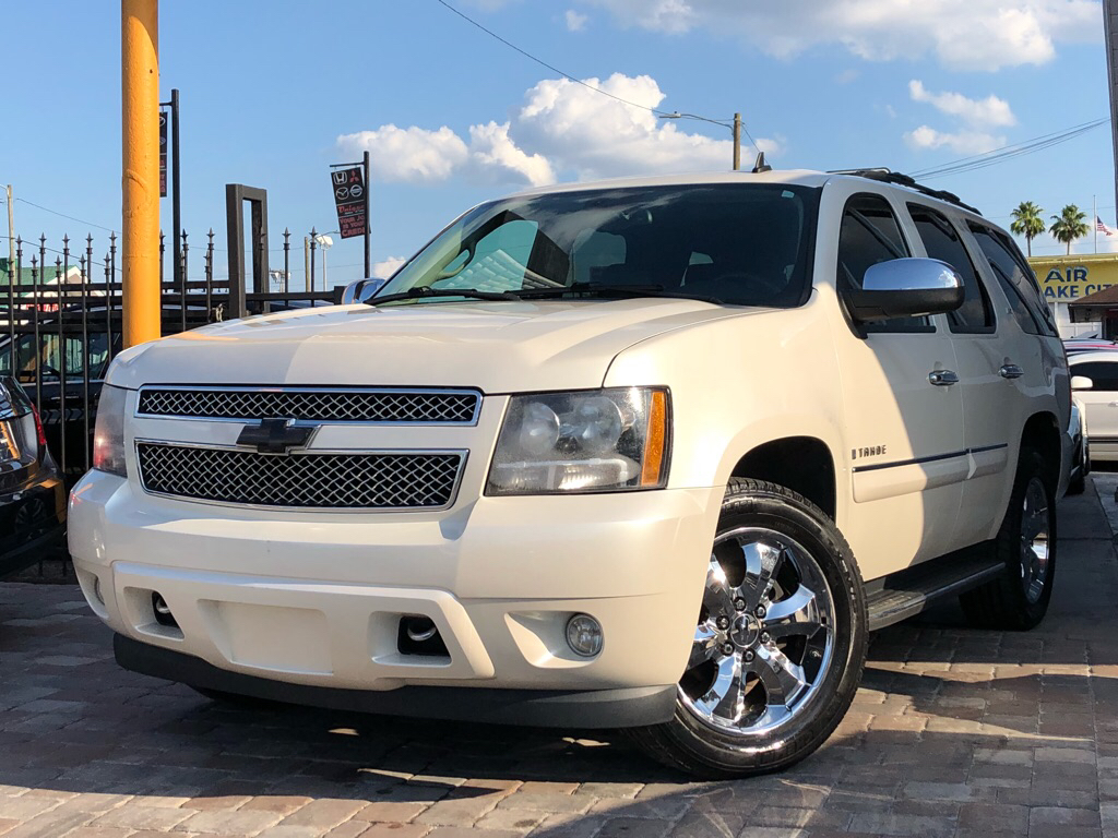 2008 CHEVROLET TAHOE LTZ 1GNFC13028R188781 UNIQUE MOTORS OF TAMPA