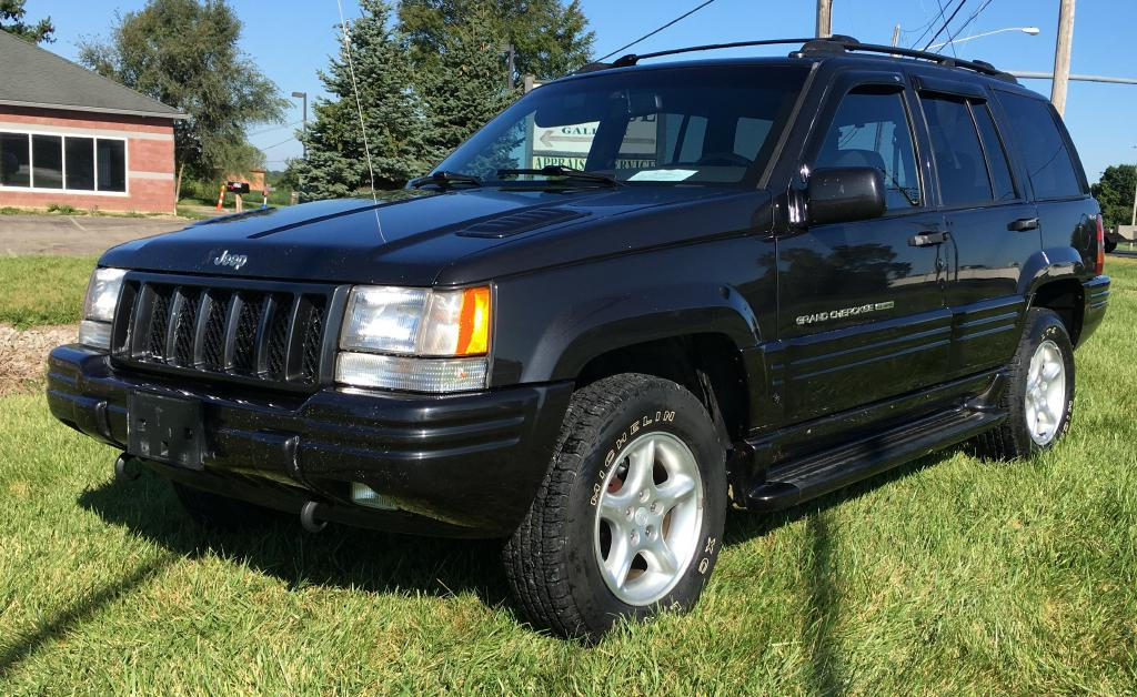 1998 JEEP GRAND CHEROKEE LIMITED 5.9L For Sale At Colonial City Auto Sales