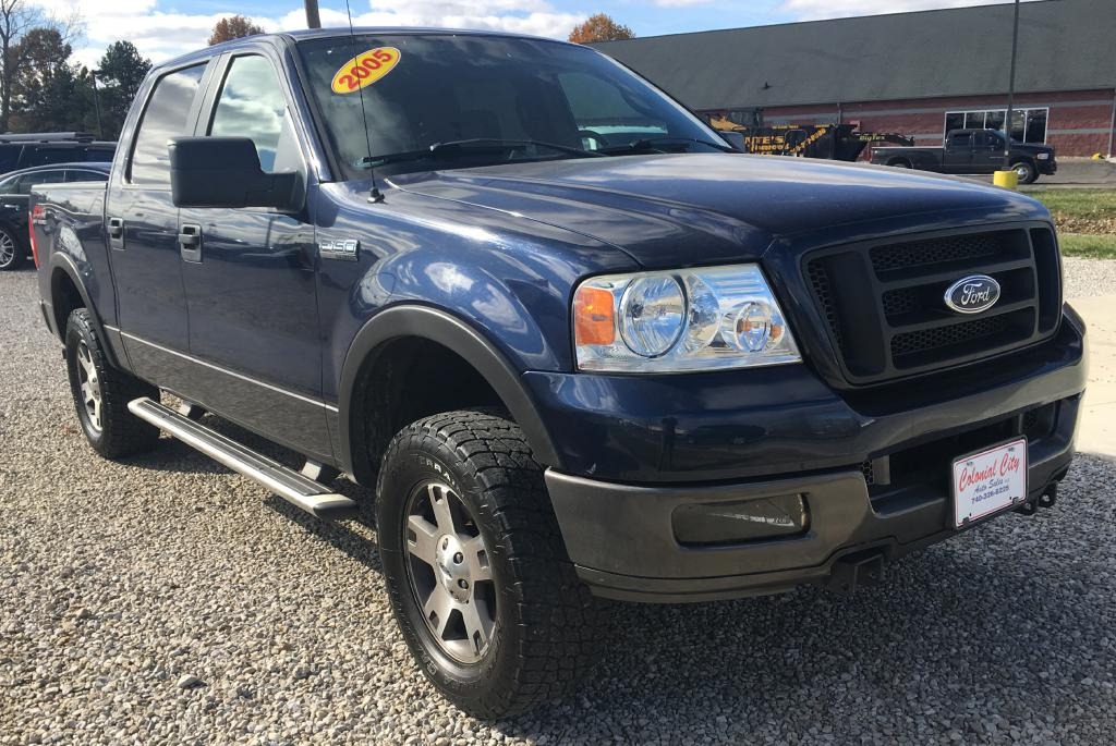 2005 ford f150 supercrew fx4 for sale at colonial city auto sales sunbury ohio. Black Bedroom Furniture Sets. Home Design Ideas