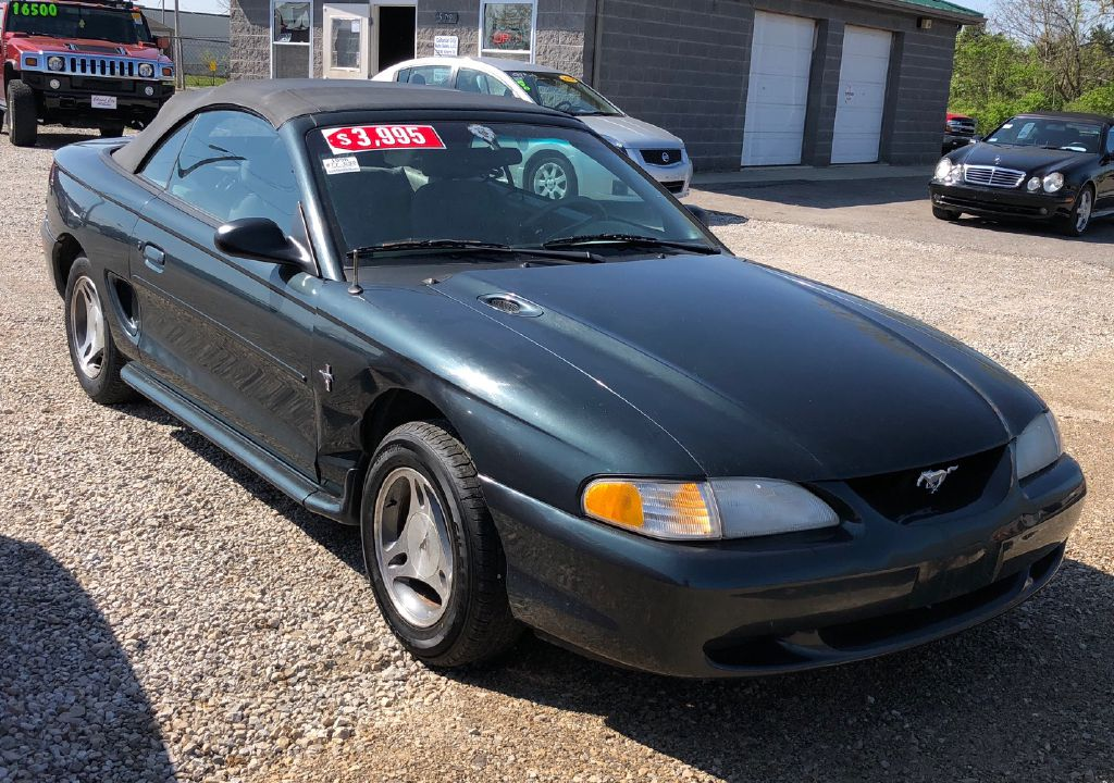 1998 FORD MUSTANG  for sale at Colonial City Auto Sales