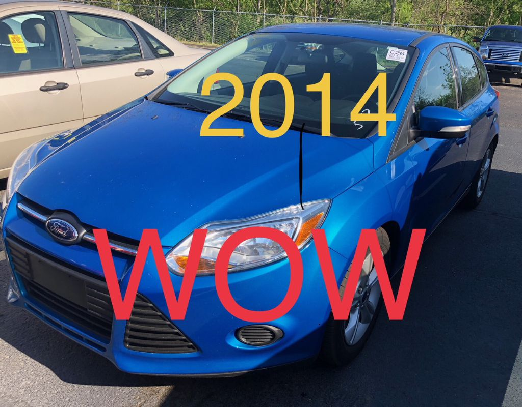 2014 Ford Focus Se For Sale At Colonial City Auto Sales Sunbury Ohio Lights