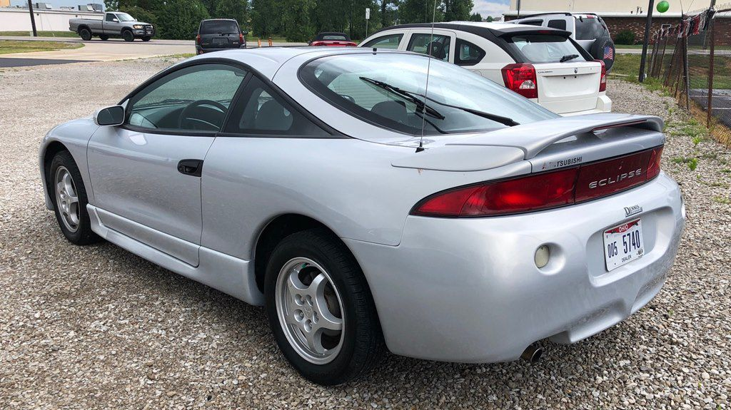 1998 MITSUBISHI ECLIPSE GS for sale at Colonial City Auto Sales
