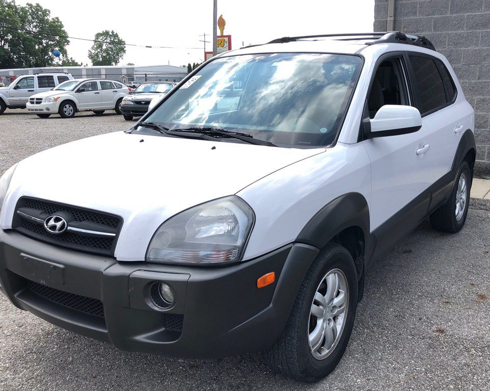 2007 HYUNDAI TUCSON SE for sale at Colonial City Auto Sales