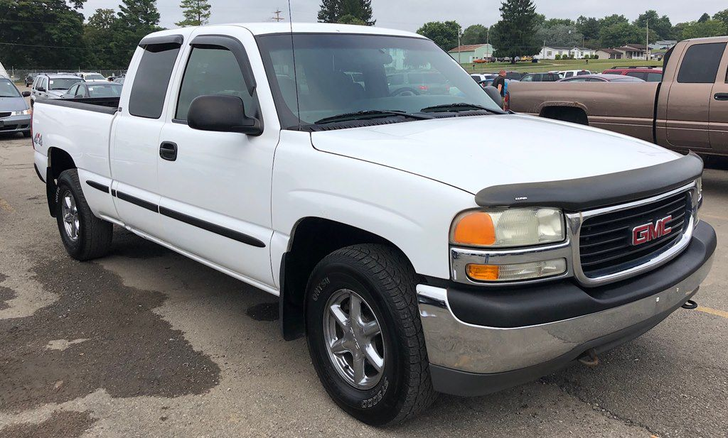 2002 GMC NEW SIERRA 1500 for sale at Colonial City Auto Sales