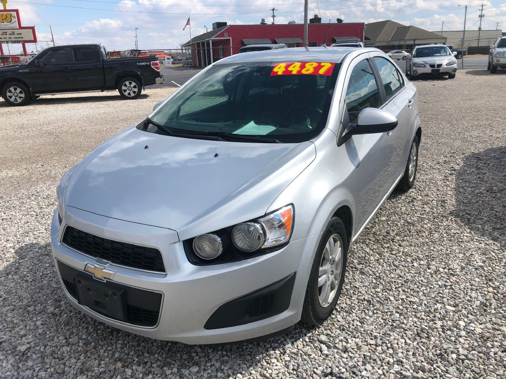 2014 CHEVROLET SONIC LT for sale at Colonial City Auto Sales