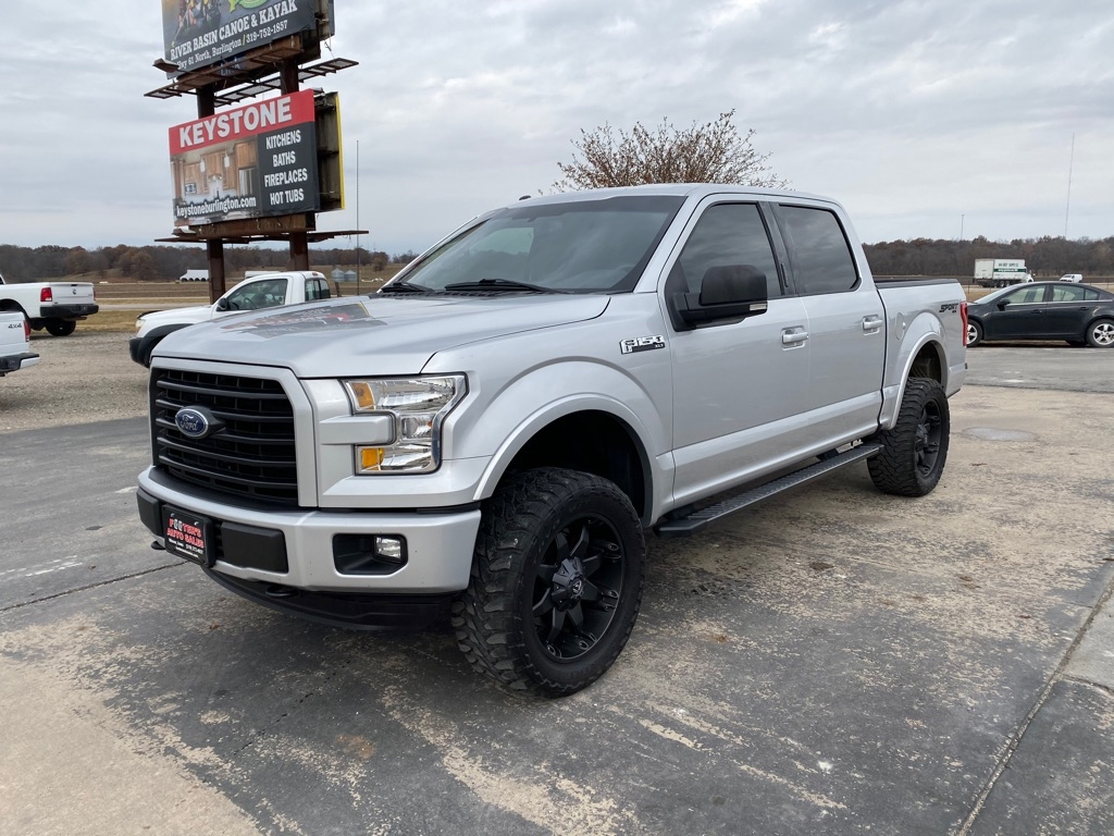 2016 FORD F150  Footers Auto Sales Wever IA