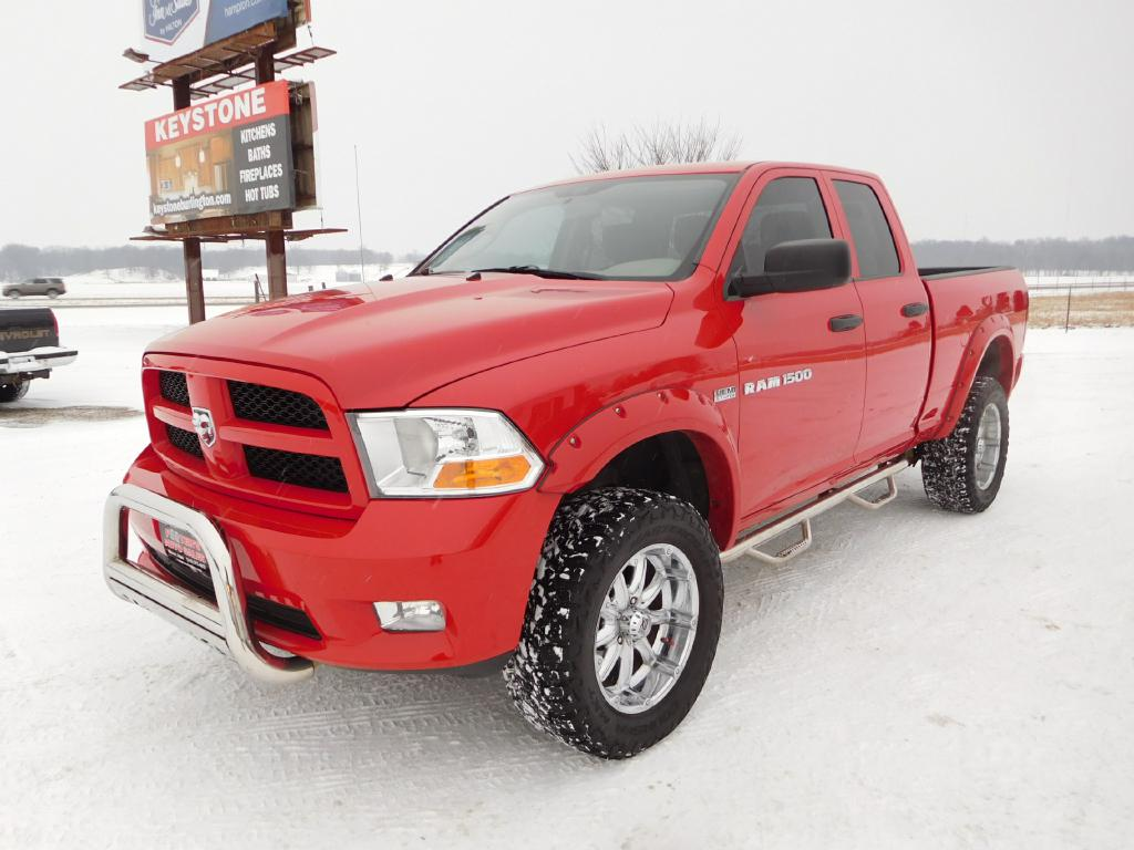 2012 DODGE RAM 1500  Footers Auto Sales Wever IA